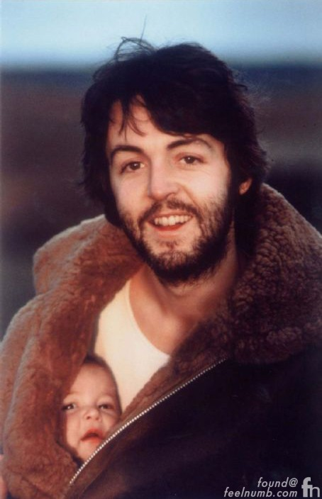 Paul McCartney Solo Album Back Cover Daughter Mary Jacket