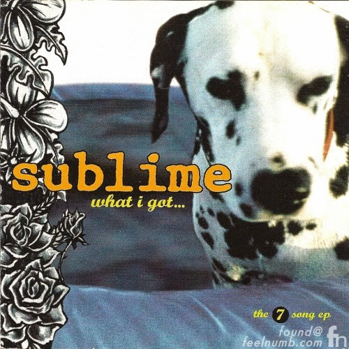 "Sublime ""Lou Dog"" What I Got Album Cover Brad Nowell Mascot"