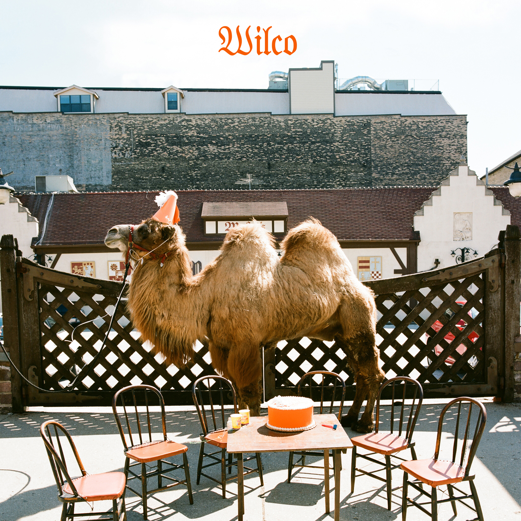 WIlco (The Album) cover photo location Maders Restaurant