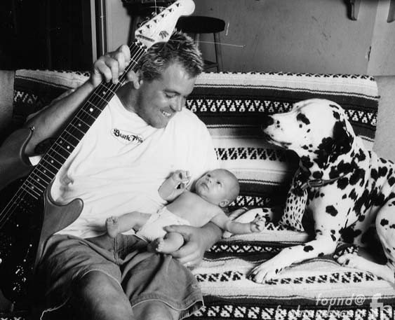 Bradley Nowell Son Jakob James Nowell Lou Dog Sublime