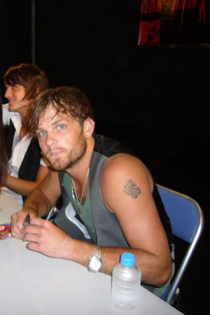 Caleb Followill Tattoo Grizzy Paw Nathan Kings Of Leon