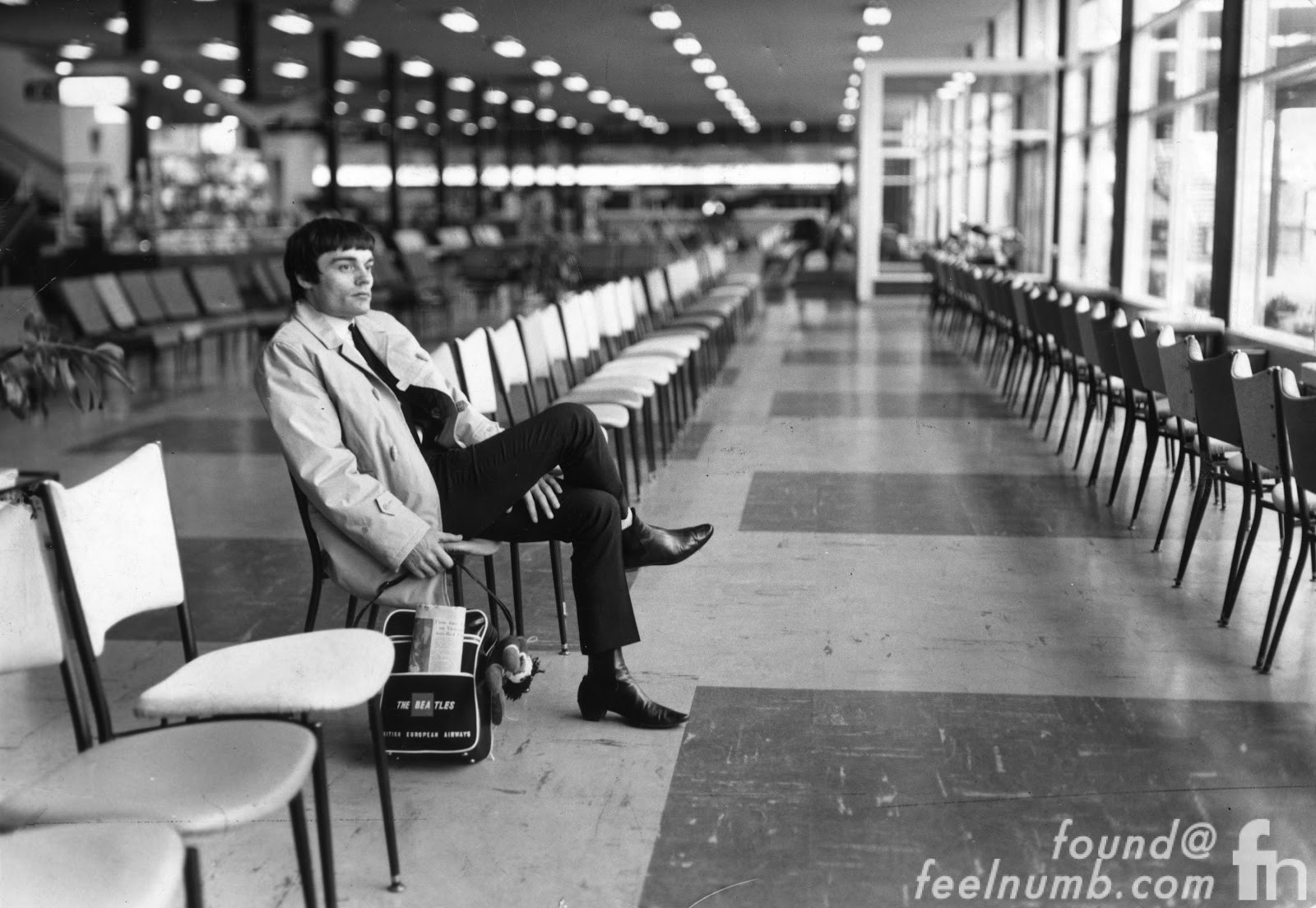 Jimmie Nicol After The Beatles Airport Photo