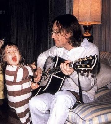 The Beatles Children John Lennon Sean Lennon