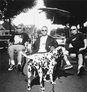 sublime�s unofficial mascot brad nowell�s dalmation �lou