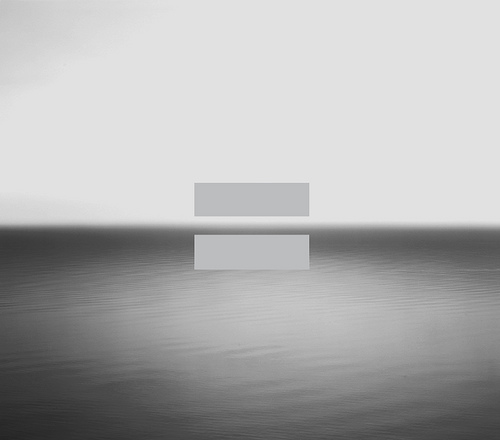 U2 No Line On The Horizon Equals Sign Album Cover Hiroshi Sugimoto
