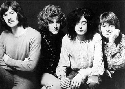 Band Publicity Photo Used For Led Zeppelin II Album Cover