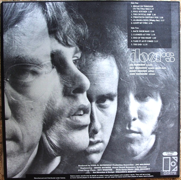 Strange Days Album Cover The Doors Poster