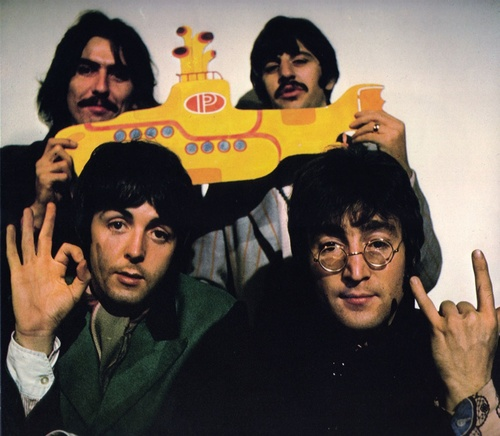 The Beatles Yellow Submarine Strawberry Fields Forever