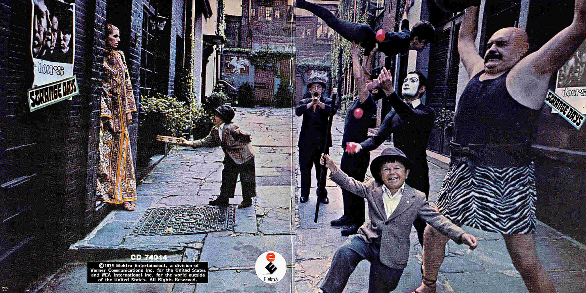 The Doors Strange Days Gatefold Location New York