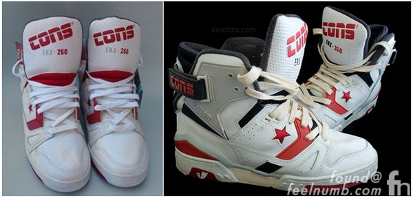 Axl Rose Converse ERX Custom Tennis Shoes