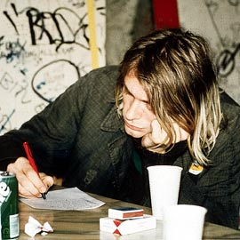 Nirvana Kurt Cobain Right-Handed Nirvana