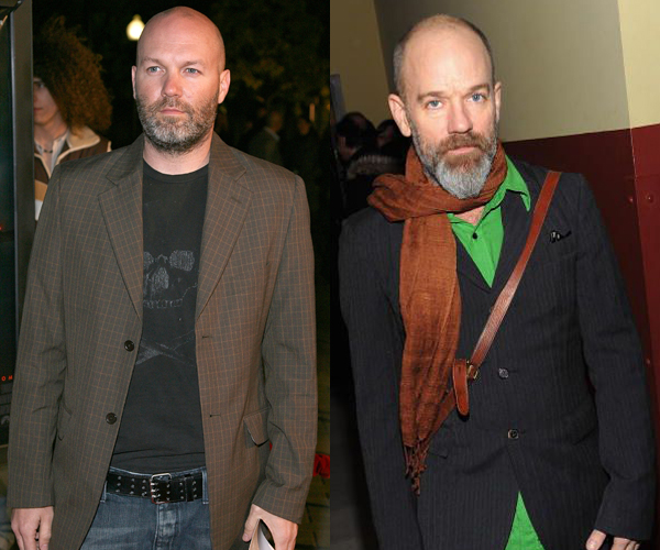 Limp Bizkit Fred Durst R.E.M. Michael Stipe Look A Like