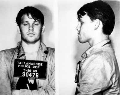 Jim Morrison The Doors Tallahassee Florida Arrest September 23, 1963