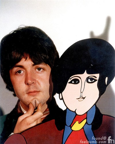 Paul McCartney The Beatles  Yellow Submarine Character