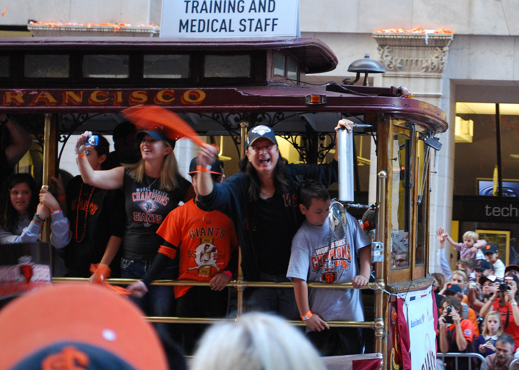 Steve Perry Journey San Francisco Giants Parade