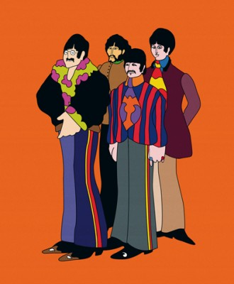 The Beatles Yellow Submarine Characters Were Based Off Of Their Look In