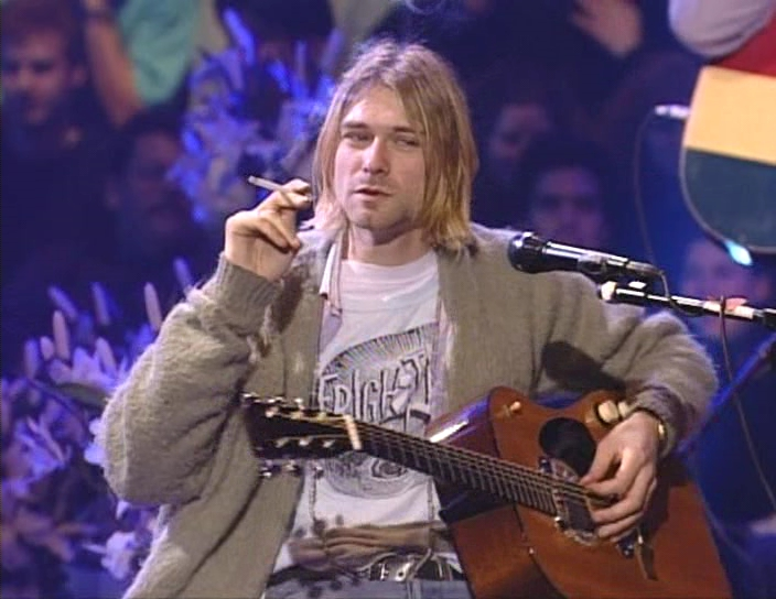 Kurt Cobain Frightwig Shirt MTV Unplugged