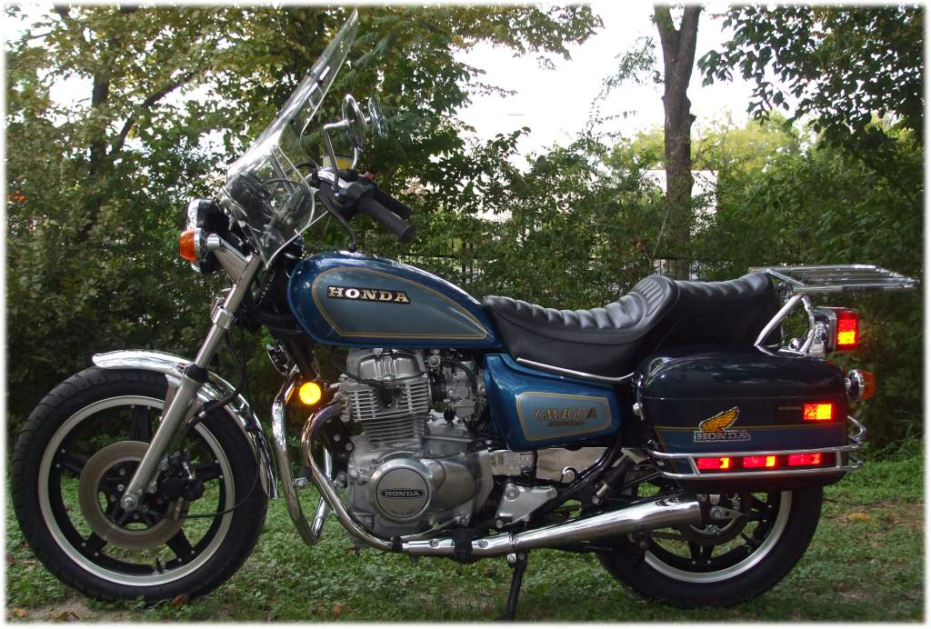 Purple Rain Motorcycle 1981 Hondamatic 400A Honda Prince