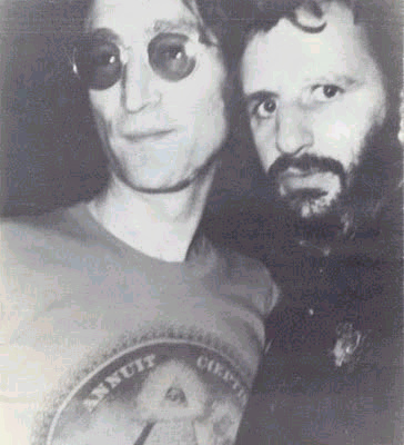 John Lennon Ringo Starr Last Photo Together