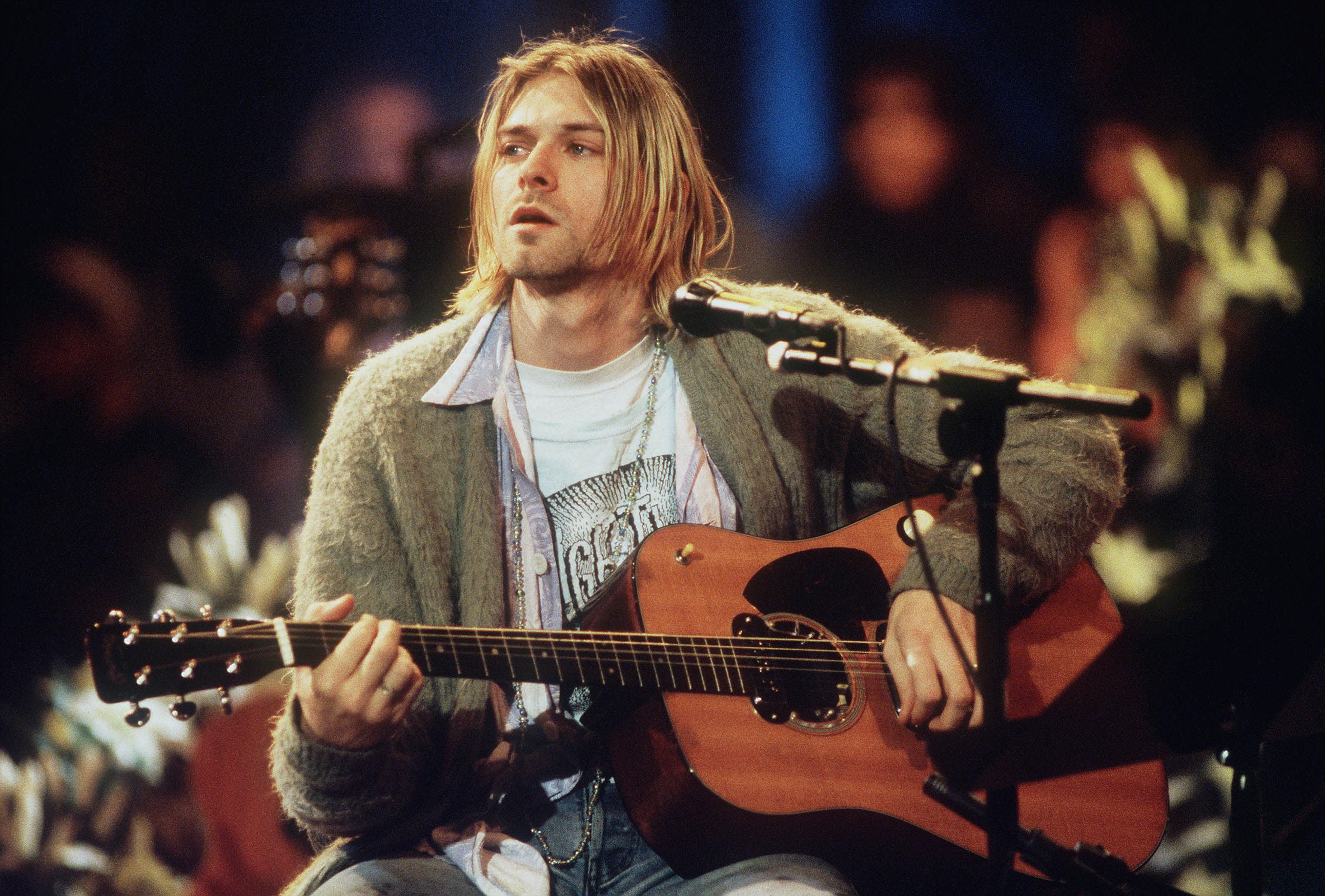 Kurt Cobain Frightwig Nirvana MTV Unplugged
