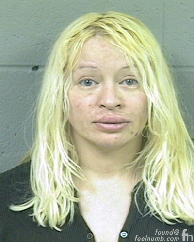 Smashing Pumkins Bass Player Arrest D'Arcy Wretzky Mug Shot Drugs