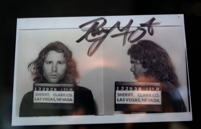 Jim Morrison The Doors Arrest Las Vegas