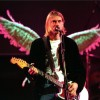 Kurt Cobain In Utero Tour 1993 Stage Angel Wings Mankin