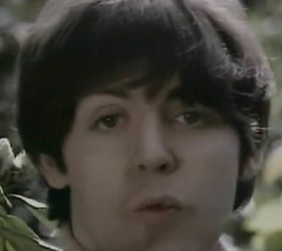 Paul McCartney Scar Chipped Tooth The Beatles Rain Video