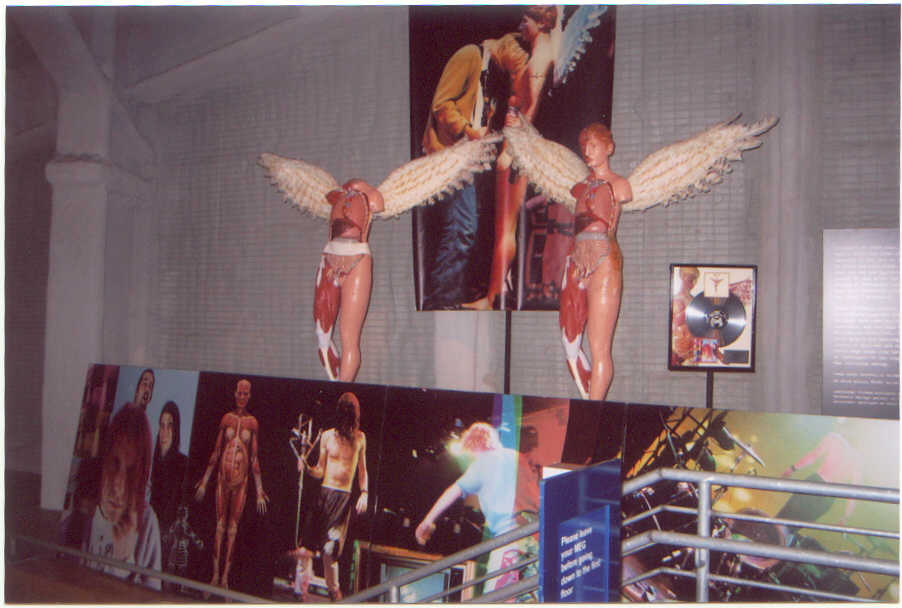 Nirvana In Utero Stage Props Mannequins EMP Seattle