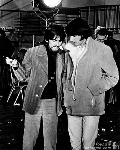 The Beatles The Monkees George Harrison Mike Nesmith