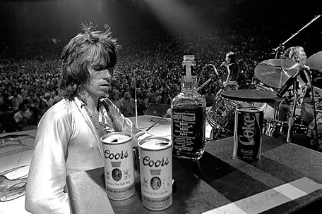 Party Like A Rock Star Keith Richards Drinking
