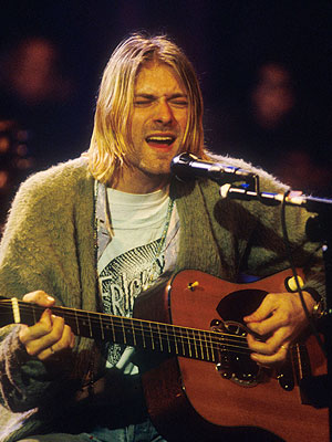 Nirvana MTV Unplugged Kurt Cobain Frightwig Shirt