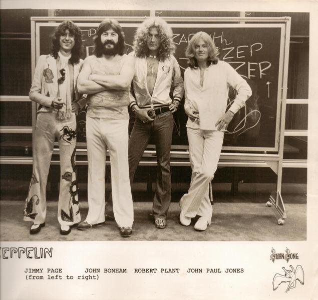 Led Zeppelin Publicity Photo Swan Song John Bonham Bulge