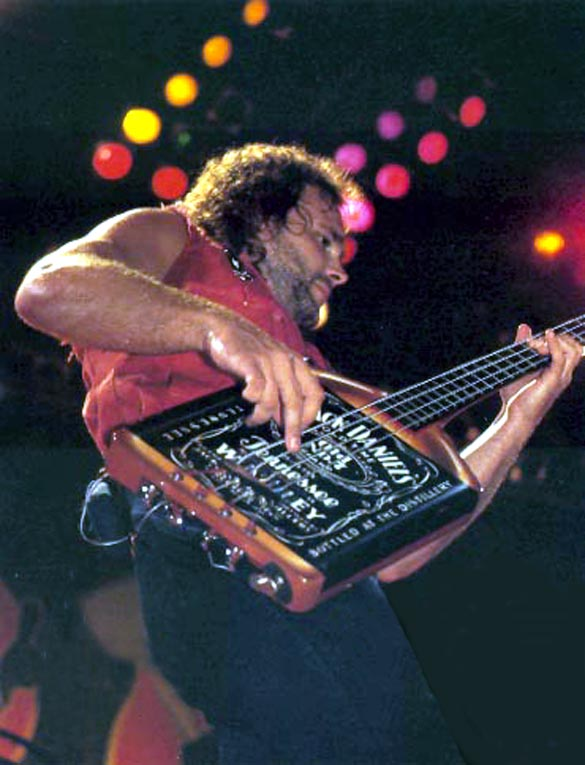 Michael Anthony Jack Daniels Bass Van Halen