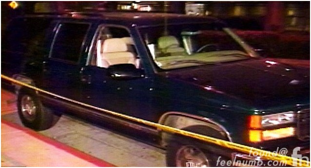 Notorious BIG Biggie Smalls GMC Suburban Death