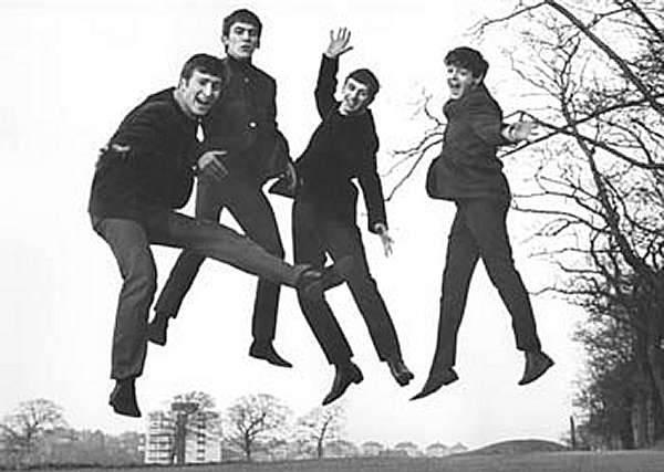 The Beatles Love Album Cover Jump Photo