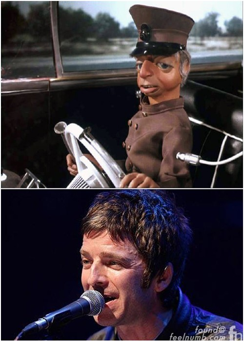 Parker Thunderbirds Look Like Noel Gallagher Oasis Liam
