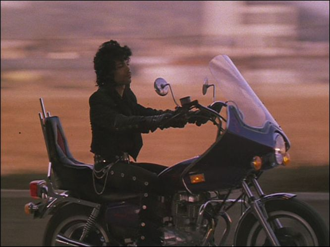 Prince Motorcycle Purple Rain Honda 400