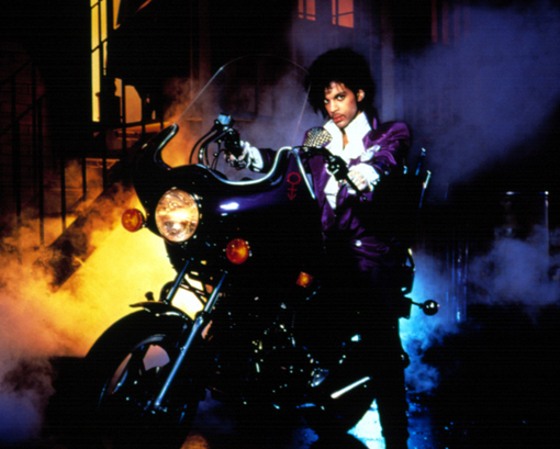 Prince Purple Rain Motorcycle 1981 Honda 400A Hondamatic