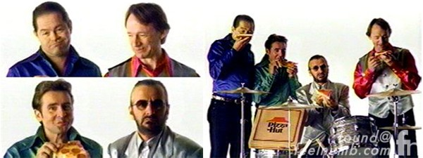 Ringo Starr Pizza Hut Commercial The Monkees The Beatles