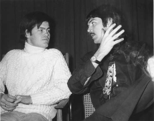 Paul McCartney Micky Dolenz The Beatles The Monkees