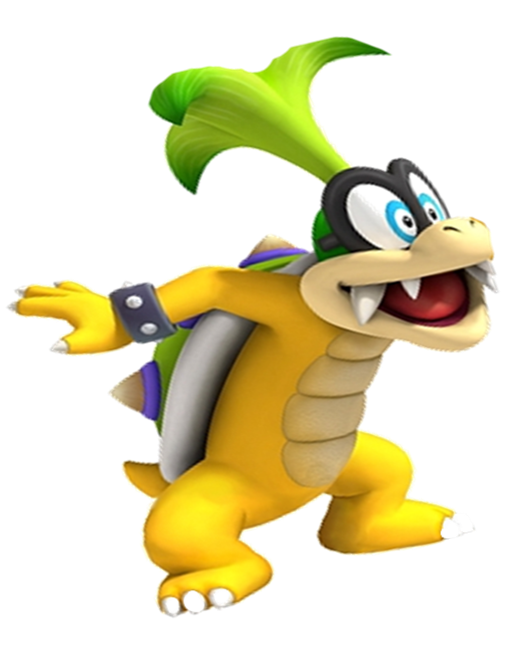 Super Mario Koopalings Iggy Pop Iggy Koopa