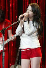 Meg White Sexy Boyshorts The White Stripes