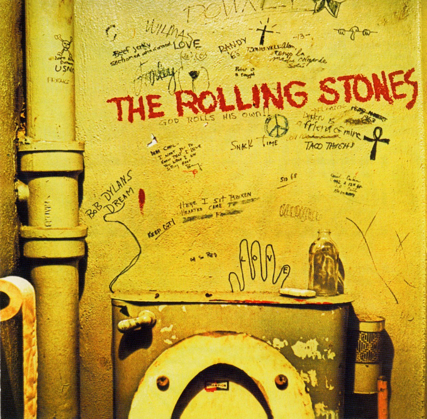 The Rolling Stones Beggars Banquet Bathroom Toilet Hollywood