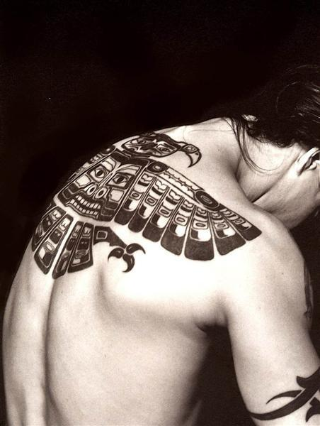 Anthony Kiedis Red Hot Chili Peppers Back Tattoo Inca Art