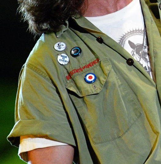Eddie Vedder Boy Scouts Of America Shirt