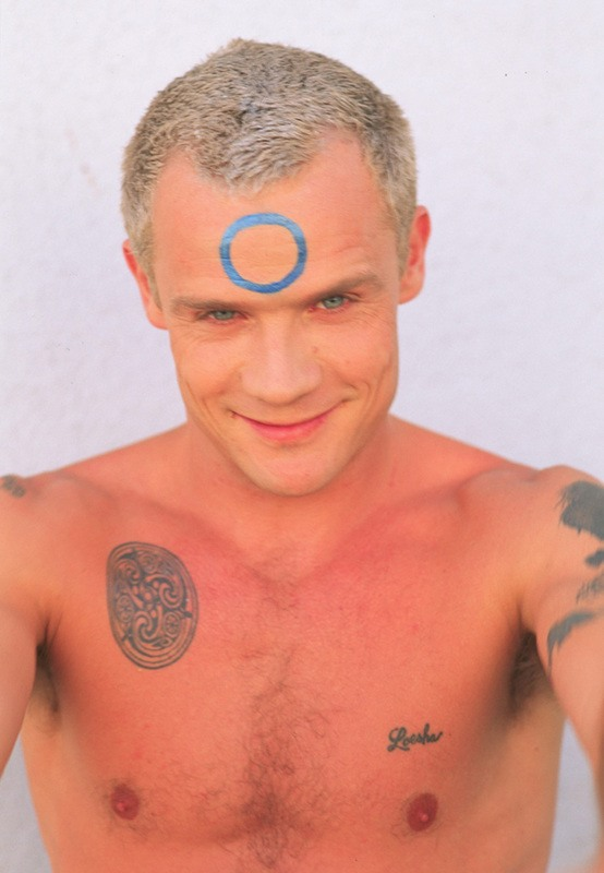 Flea Ex WIfe Tattoo Loesha Red Hot Chili Peppers
