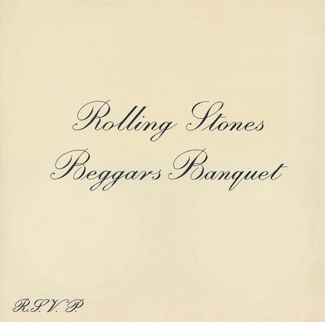 The Rolling Stones Beggars Banquet Album Cover Toilet