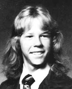 James Hetfield School Yearbook Photo Metallica