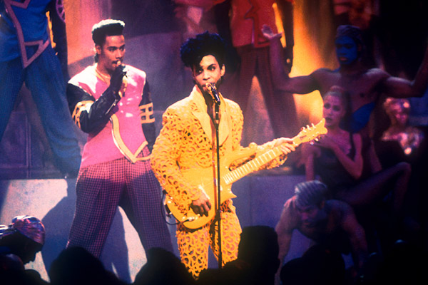 Prince 1991 MTV Awards Show Ass Less Pants